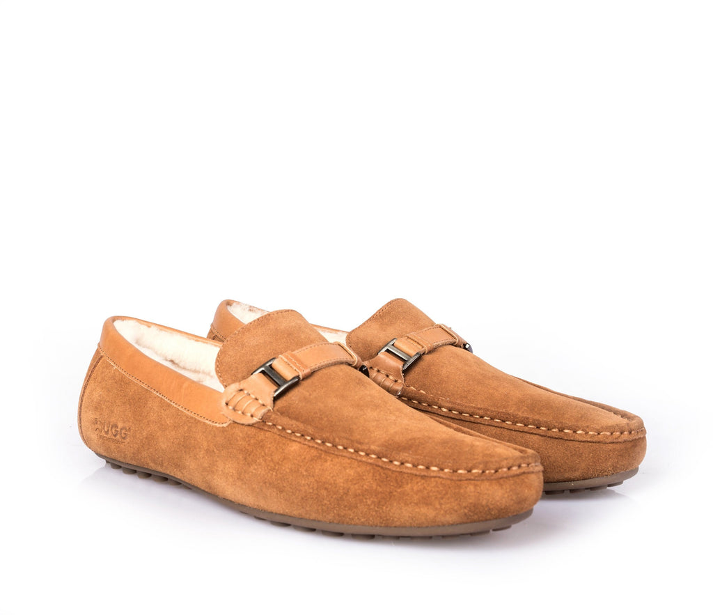 UGG Men's Ribbon Moccasin Jacob #111006 (2495851954234)