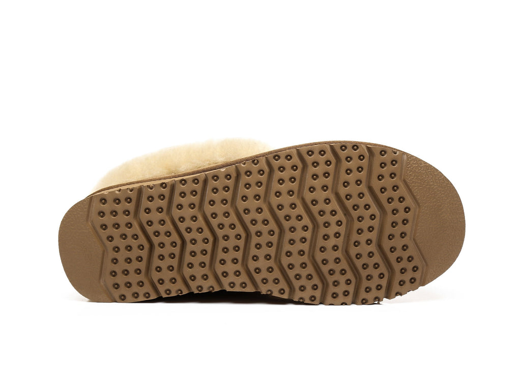 UGG Slippers, Australia Premium Double Face Sheepskin,Unisex Mallow Slipper #513004 (2478174765114)