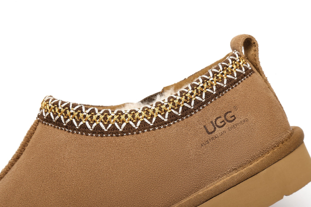 UGG Slippers Australian Genuine Sheepskin Mens Vincent Scuff #513005 (2513386111034)