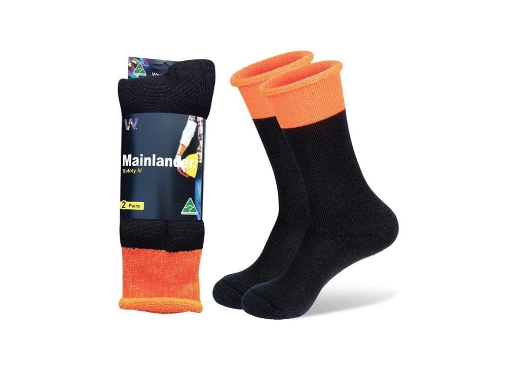 Wearproof Mainlander Safety 2 Pair Pack Socks (4317431103546)