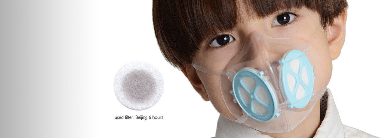 Advanced air pollution mask for children