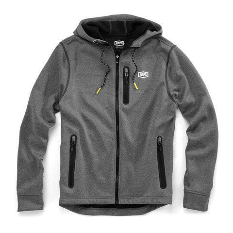 100% Casual Wear 2018 100% Council Lightweight Outershell - Charcoal Heather