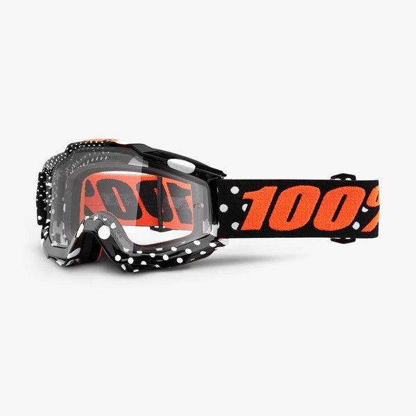 100% Motocross Goggles 2018 100% Accuri MX Motocross Goggles - Gaspard - Clear Lens