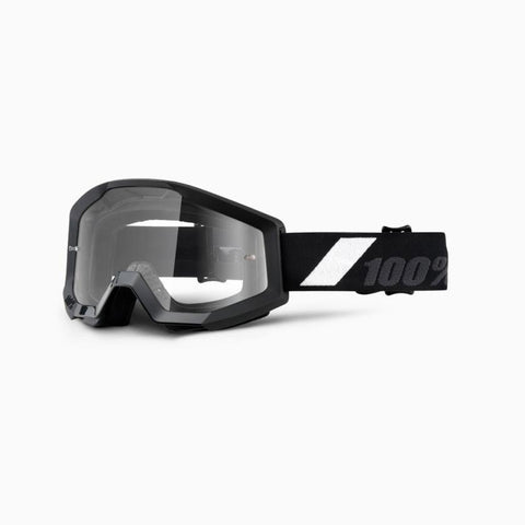 100% Youth Motocross Goggles 2018 100% Strata MX YOUTH Motocross Goggles - Goliath - Clear Lens