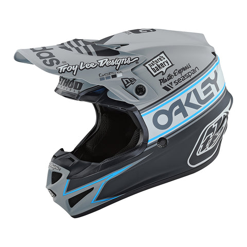Troy Lee YOUTH SE4 19 Team Edition MX Motocross & Enduro Helmet - Grey