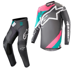 2018 Alpinestars Racer Limited Edition Indy Vice Kit Combo - Pink/Black