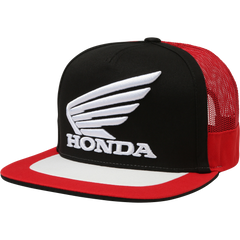 2019 FOX Honda Snapback Hat - Black/Red