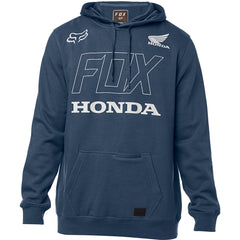 2019 Fox Mens Honda Pullover Fleece Hoodie - Navy