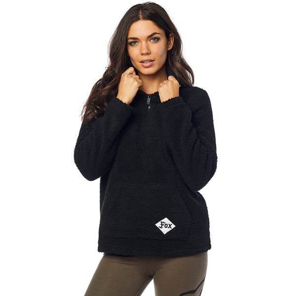 2019 Fox Supercharged Women's Pullover Hoody - Black