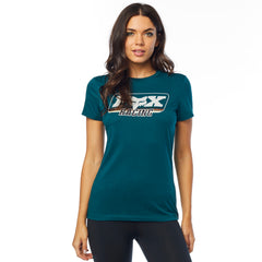 2019 Fox Retro Fox SS Women's Crew Tee - Jade