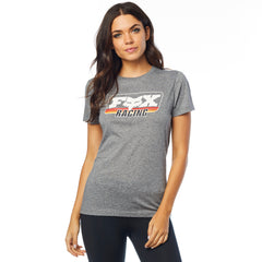 2019 Fox Retro Fox SS Women's Crew Tee - Heather Grey