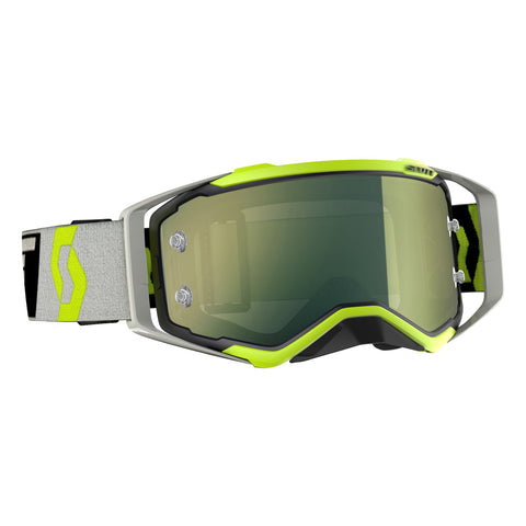 Scott Prospect Motocross Goggles - Black Flou Yellow Yellow Chrome