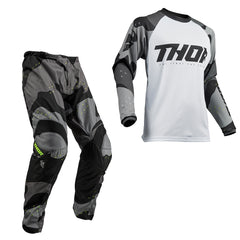 Thor 2019 Sector MX Motocross & Enduro Kit Combo - Grey Camo