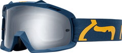 2019 Fox Youth Airspace Goggle - Race - Navy/Yellow