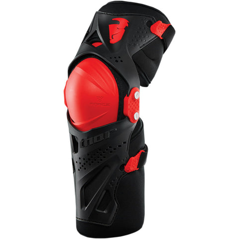 Thor 2019 Force XP YOUTH MX Motocross & Enduro Knee guard - Red
