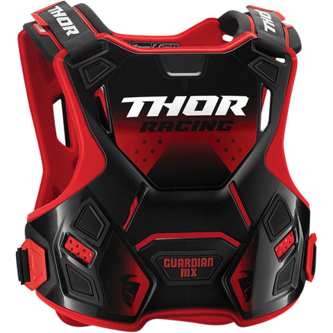 Thor 2019 Guardian MX Motocross & Enduro Chest Protector - Black/Red