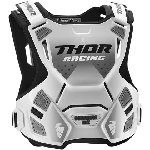 Thor 2019 Guardian YOUTH MX Motocross & Enduro Chest Protector - White/Black