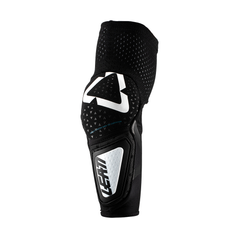 Leatt JUNIOR 3DF Hybrid MX Motocross Elbow Guards - Black/White