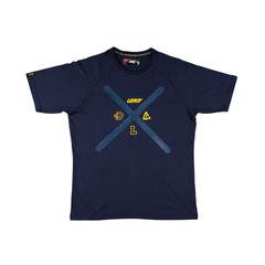 Leatt Stadium Mens T-Shirt - Navy Blue