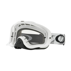 Oakley Crowbar MX Motocross Goggles - Speed - Matte White