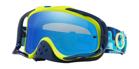 Oakley Crowbar Goggle Thermo Camo Blue/Yellow - Black Iridium & Clear Lens