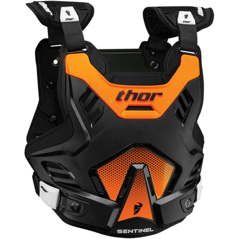 Thor 2019 Sentinel GP MX Motocross & Enduro Chest Protector - Orange/Black