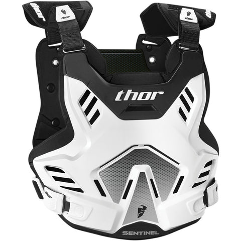 Thor 2019 Sentinel GP MX Motocross & Enduro Chest Protector - White/Black