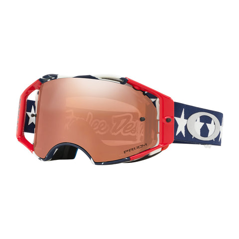 Oakley Airbrake Goggle TLD Signature Liberty Red/White/Blue W/Prizm Black Iridium Lens