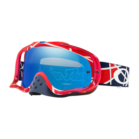 Oakley Crowbar Goggle TLD Signature Metric Red/White W/Black Ice Iridium