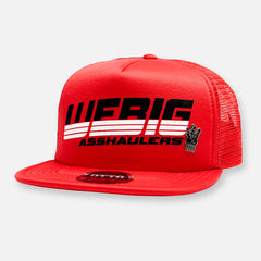Webig Asshaulers Hat - Red