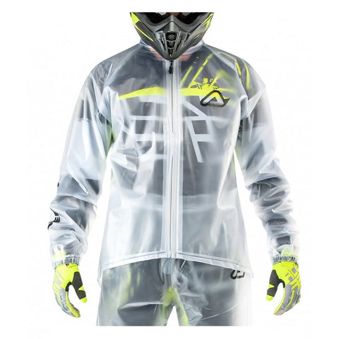 Acerbis Casual Wear 2018 Acerbis Transparent 3.0 Rain Jacket - Clear
