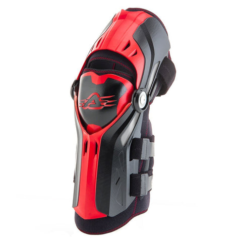 Acerbis Motocross Body Protection 2018 Acerbis Gorilla Knee Guards - Black / Red