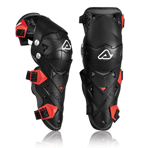 Acerbis Motocross Body Protection 2018 Acerbis Impact EVO 3.0 Knee Guards - Black / Red