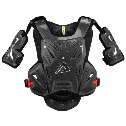 Acerbis Motocross Body Protection 2018 Acerbis MX Motocross Cosmo Short 2.0 Chest Protector - Black / Red