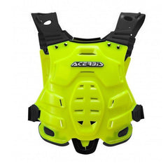 2018 Acerbis MX Motocross Profile Chest Protector - Fluo Yellow
