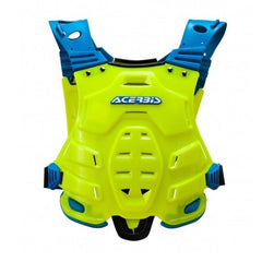 2018 Acerbis MX Motocross Profile Chest Protector - Fluo Yellow / Blue