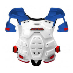2018 Acerbis MX Motocross Robot Chest Protector - Red / Blue