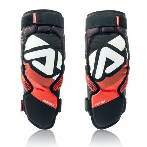 Acerbis Motocross Body Protection 2018 Acerbis Soft 3.0 Knee Guards - Black / Red