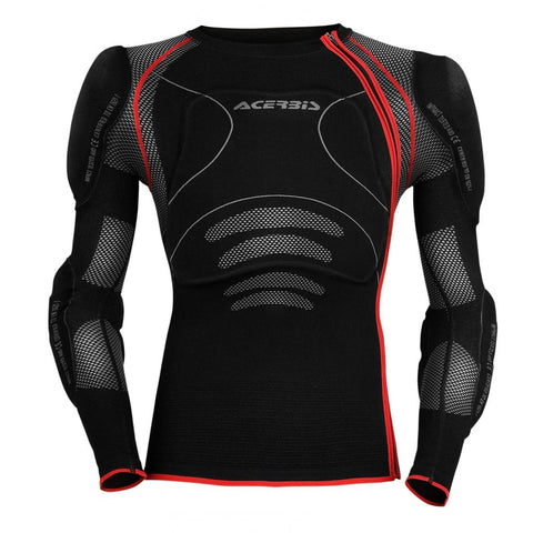 Acerbis Motocross Body Protection 2018 Acerbis X-Fit Body Armour - Black / Red