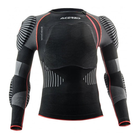 Acerbis Motocross Body Protection 2018 Acerbis X-Fit Pro 2.0 Body Armour - Black / Red