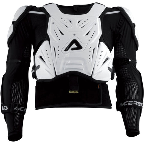 Acerbis Motocross Body Protection Acerbis Roost Deflectors Cosmo with Jacket XXL - White