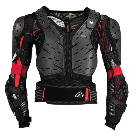 Acerbis Motocross Body Protection S/M 2017 Acerbis Koerta 2.0 Body Armour - Black / Red