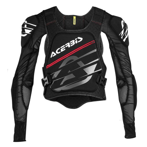 Acerbis Motocross Body Protection S/M 2017 Acerbis MX Motocross Soft Pro Body Armour - Black / Red