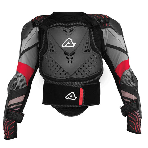 Acerbis Motocross Body Protection S/M 2017 Acerbis Scudo CE 2.0 Body Armour YOUTH - Black / Red