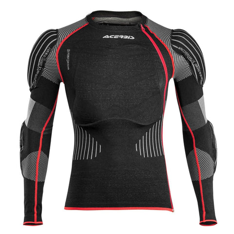 Acerbis Motocross Body Protection S/M 2017 Acerbis X-Fit Pro Body Armour YOUTH - Black / Red