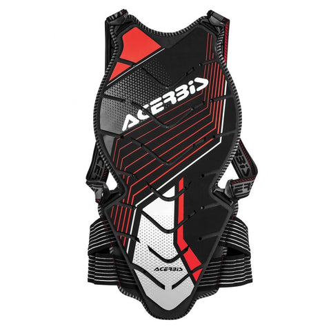 Acerbis Motocross Body Protection S/M 2018 Acerbis Back Comfort 2.0 Back Protector - Black/Red