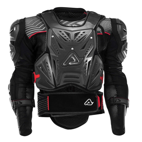 Acerbis Motocross Body Protection S/M 2018 Acerbis MX Motocross Cosmo 2.0 Body Armour - Black / Red