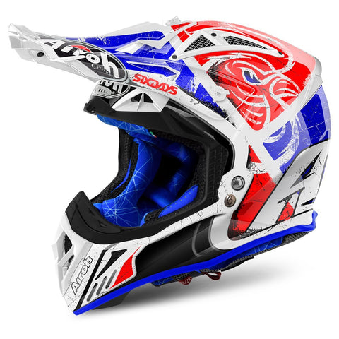 Airoh Aviator 2.2 Motocross Helmets 2018 Airoh Aviator 2.2 Motocross Helmet - Six Days Red Limited Edition