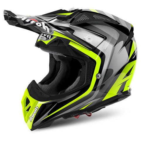 Airoh Aviator 2.2 Motocross Helmets 2018 Airoh Aviator 2.2 Motocross Helmet - Warning Yellow