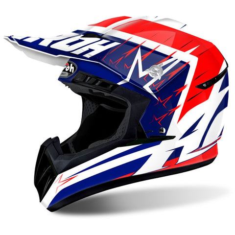 Airoh Switch Motocross Helmets 2018 Airoh Switch Motocross Helmet - Startruck Red Gloss